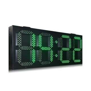 Bigger size led time zone clock \ low price led digital clock display \ led large digital wall clock time display