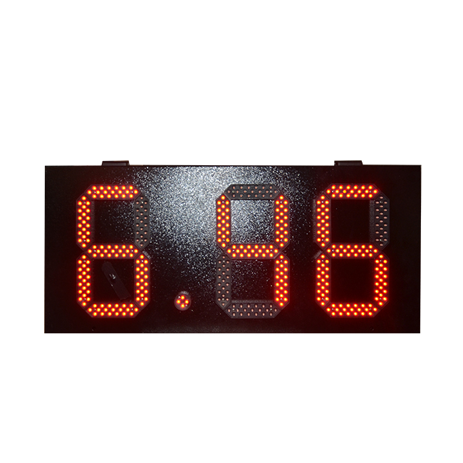 Number 7 changer LED gas station led price sign gas station USA