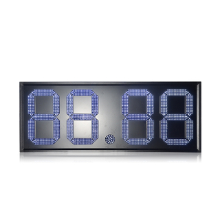 Hot Sale Mexico 18 Inch White Color 88.88 Led Signs for Gas Stations