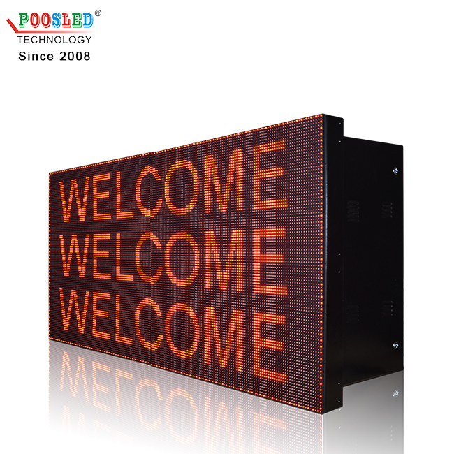 factory directly provide led screen usb control popular led advertising signs programmable led display