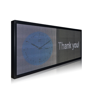 Hot Sale Indoor P7.62 Full Color Wifi Control Led Scrolling Sign