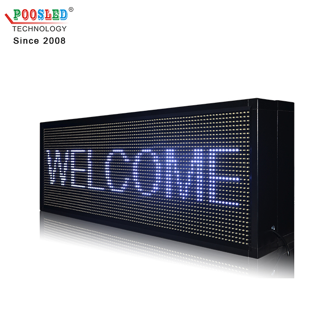 Popular Outdoor Double Sided P10 3x2 White Led Screen