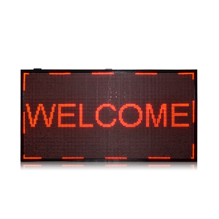 Hot Sale Outdoor P10 Single Red 4x4 Led Moving Sign