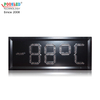 New Arrival Small Size 6 Inch Single Red Led Temperature Sign