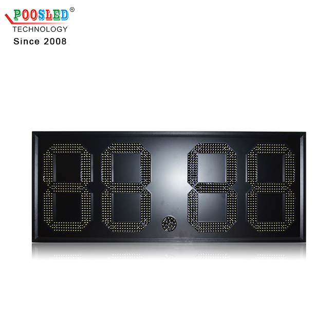 Hot Sale Mexico 18 Inch White 88.88 Led Signs for Gas Stations