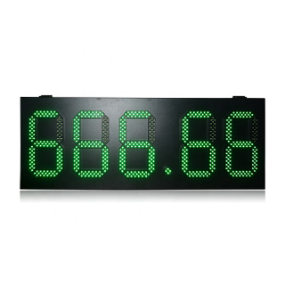 Good Quality Ip65 High Brightness 10 Inch Green 888.88 Gas Station Led Display