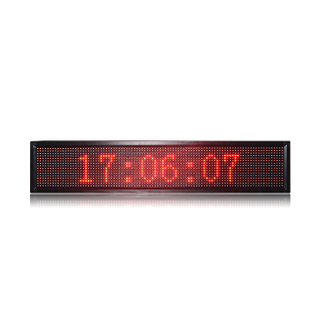 Hot Sale Semi-outdoor P10 Red 3X1 USB Control LED Message Display