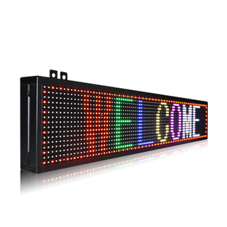 Popular Indoor P10 3X1 RGB(SMD) Led Message Board