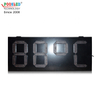 Special Style Ip53 Outdoor 12 Inch 7 Segment Red Led Temperature Sign