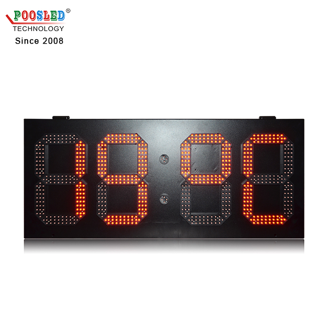 Top Quality Ip53 Outdoor 12 Inch Single Red Gps Led Digital Clock