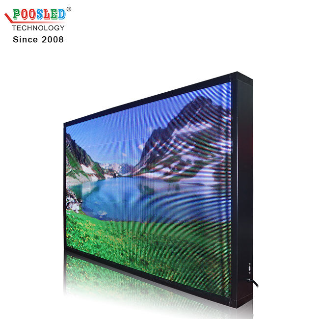 Top Quality Outdoor Single Sided P8 Full Colour LED Running Message Display