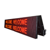 IP65 Waterproof P10 9x3 Red Led Message Board