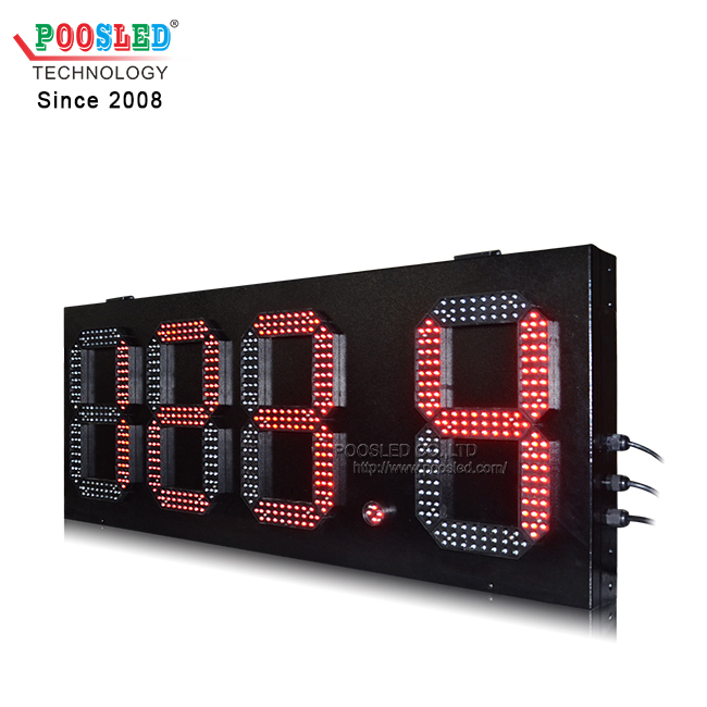 Special Design ATM 15'' Waterproof Red 5 Lines 888.8 Gas Station Led Price Sign