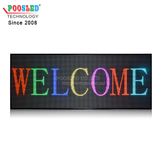 Waterproof Outdoor Using P10 Advertising LED Message Screen Full Color Waterproof Module
