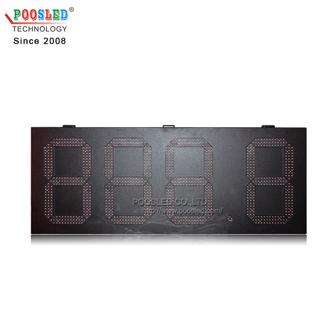 Factory Manufacture 15 Inch Large 7 Segment Red&Green 888.8 Gas Station Led Signs