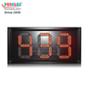 High Quality Indoor Using Aluminum Frame LED Countdown Timer IP53