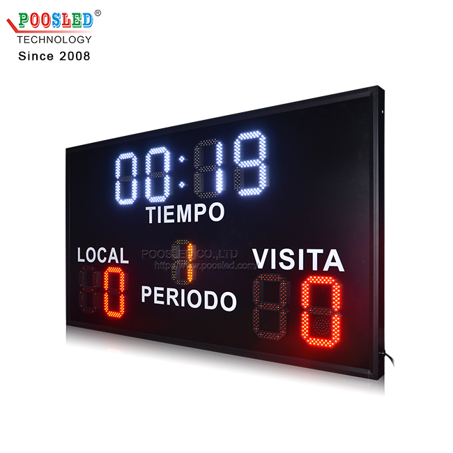 Hot Sale Outdoor Waterproof 10''+8'' Wireless Control Electronic Soccer Scoreboards