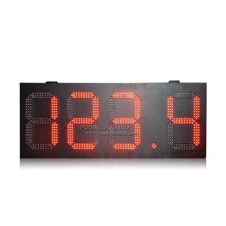 Waterproof Cabinet 12'' High Brightness Red 888.8 Digital Led Gas Price Sign