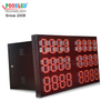 High Quality Signle Color Led 7 Segment Sign Special Specification Exchange Rate Board