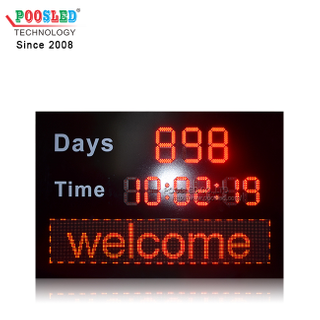 10 Inch Led Countdown Timer Manufacturer in LED Signs Countdown Timer