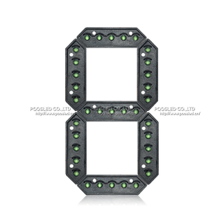Hot Sale 6 Inch Waterproof Green Led Digital 7 Segment