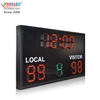 Outdoor Ip53 Remote Control 6 Inch Red Led Basketball Scoreboard